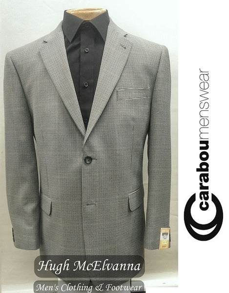 Sports Jacket With Classic Check by Carabou