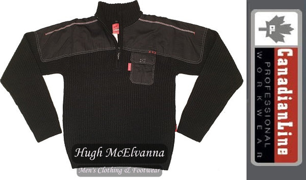 Wool Rich Work Pullover by Canadianline®