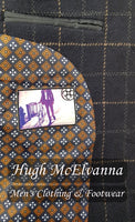 Boys 3Pc Tweed Check Suit by Cavani Style: SHELBY - Hugh McElvanna Menswear