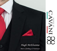 Black Slim Fit Fashion 3Pc. Suit by House Of Cavani Style: MARCO - Hugh McElvanna Menswear