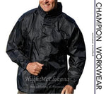 Black Champion Waterproof Jacket Style: Typhoon - Hugh McElvanna Menswear