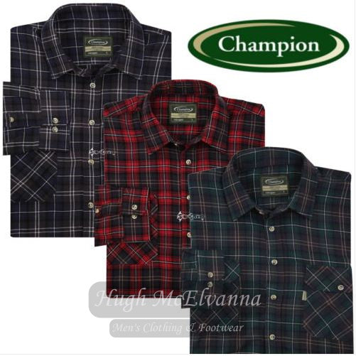 King Size Champion® Work Shirts Style: Kilbeggan ( 3 Colour Options Available ) - Hugh McElvanna Menswear