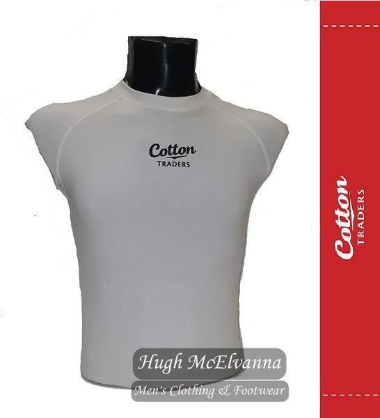 Base Layer WHITE by Cotton Traders - Hugh McElvanna Menswear