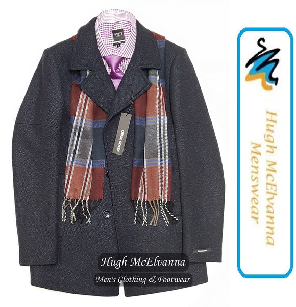 Men's Arthur Fashion Scarf - 2 Colour Options Available - Hugh McElvanna Menswear