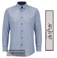 Drifter Long Sleeve Design Shirt Blue Style No: 15561/64