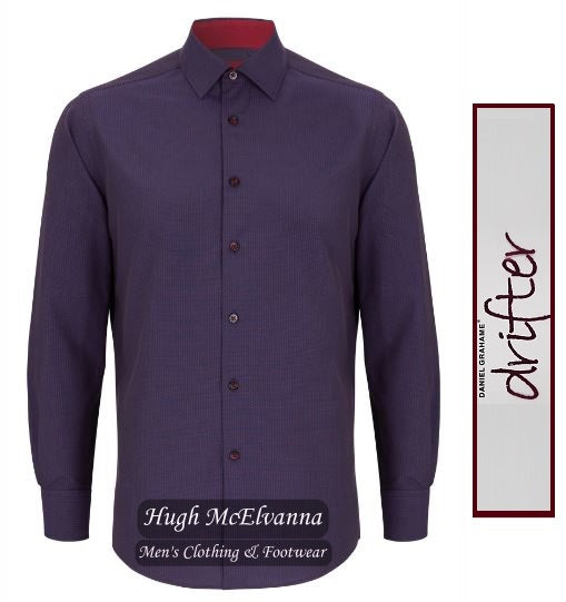 Drifter Long Sleeve Design Shirt Blue Style No: 15568/67