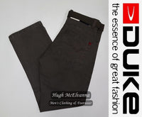 Needle Cord Jeans By Duke Clothing - 3 Colour Options Available - Hugh McElvanna Menswear