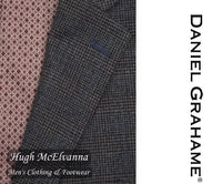 Daniel Grahame Grey Check Jacket Style:11904/06