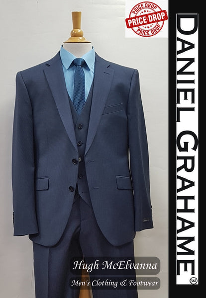 3Pc. Blue Suit by Daniel Grahame Style: 30600/27 - Hugh McElvanna Menswear