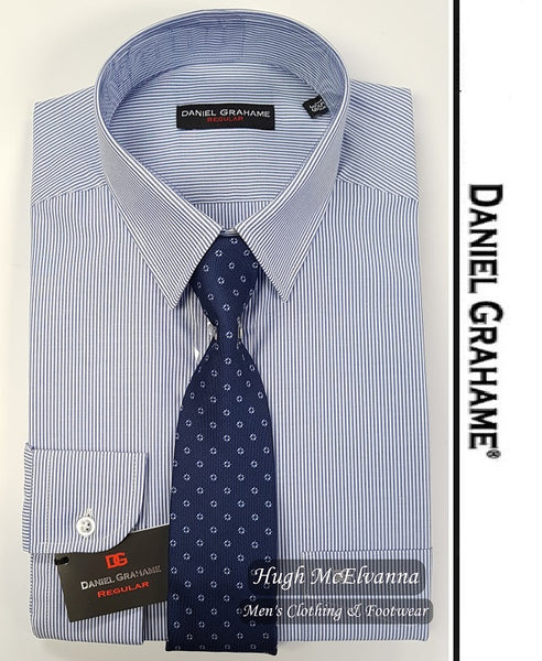 Stripe Shirt & Tie Set By Daniel Grahame Call No: 15249/18