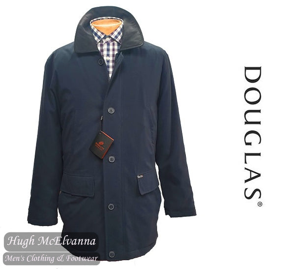Douglas 'AINSWORTH' Navy Car Coat Style: 88520/79