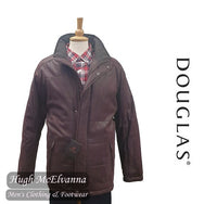 Burgundy Douglas Water Repellent Coat Style: 80152/68