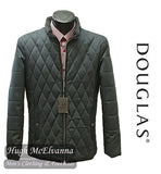 'HARDY' Grey Quilted Jacket By Douglas Style: 80302/38