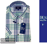 Check Short Sleeve Shirt by Drifter Style No: 15590SS/13