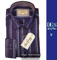 Drifter Long Sleeve Design Shirt Purple Style No: 15342/75