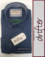 Drifter Button Down Shirt Style No: 15363 - 2 Colour Options Available - Hugh McElvanna Menswear