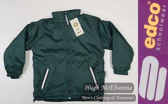 Edco Reversible Jacket Bottle Green - Hugh McElvanna Menswear