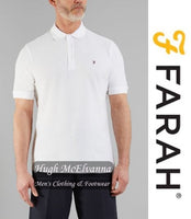 Polo Shirt by Farah® Classic Style: Cove ( 3 Colour Options Available ) - Hugh McElvanna Menswear