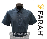 Farah DRAYTON Short Sleeve Shirt ( 2 Colour Options Available ) - Hugh McElvanna Menswear