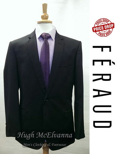 Black 2Pc. Suit by FÉRAUD - Hugh McElvanna Menswear