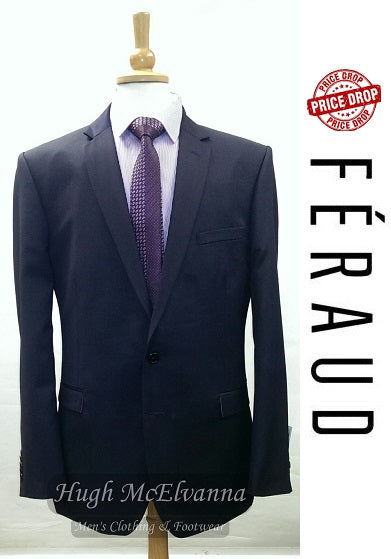 Navy 2Pc. Suit by FÉRAUD - Hugh McElvanna Menswear