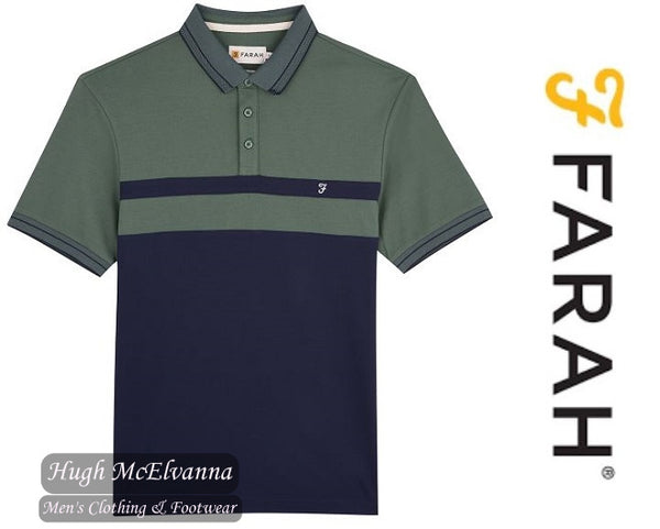 Farah Godfrey Modern Fit Polo ( Available In 2 Colours ) Style: FAKF9007