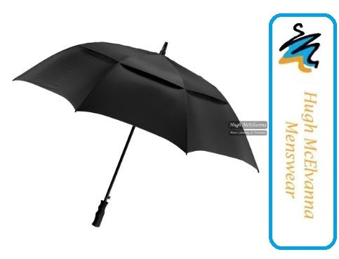 Golf Umbrella Double Skin - Hugh McElvanna Menswear