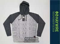 Boys Knitted Hoodie by Haywire Style: CRANTOCK - 3 Colour Options Available - Hugh McElvanna Menswear