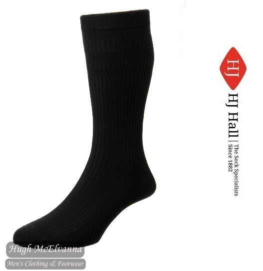 Men's Cotton Extra Wide Softop Socks Cotton Rich - HJ191