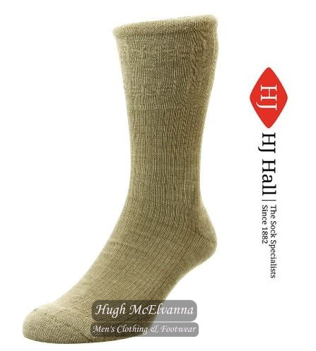 Softop Wool Cushion Sole Socks by HJ Hall Style HJ92 ( 5 Colour Options )