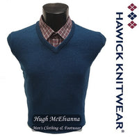Hawick Lambswool V-Neck Pullovers Style: HK700 ( 7 Colour Options Available )