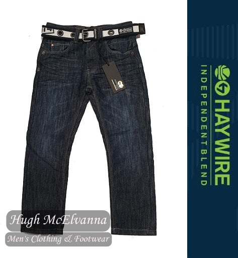 Boys Belted Jean by Haywire Style: Petersburg