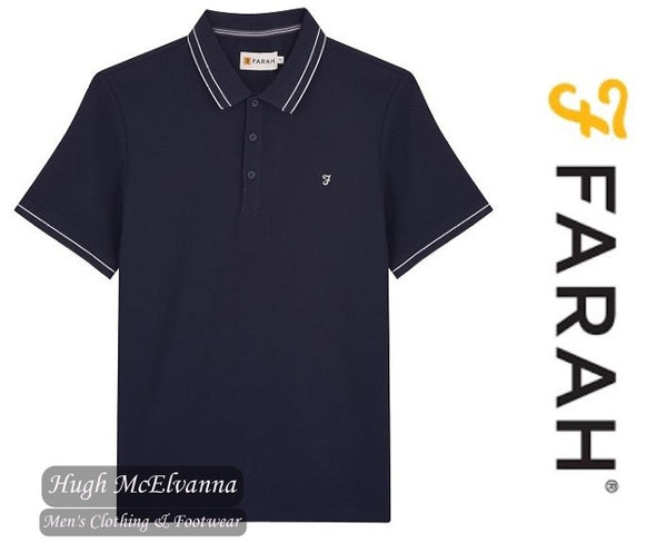 Farah Honeycomb Modern Fit Polo ( Available In 2 Colours ) Style: FAKF9031