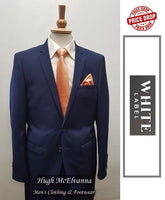 Slim Fit Fashion Suit 2Pc by White Label