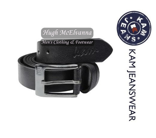 Leather Jean Belt by KAM Style: KBS913 - 2 Colour Options