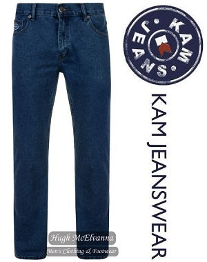 KAM Jeanswear FORGE REGULAR FIT Stonewash Jean - Hugh McElvanna Menswear