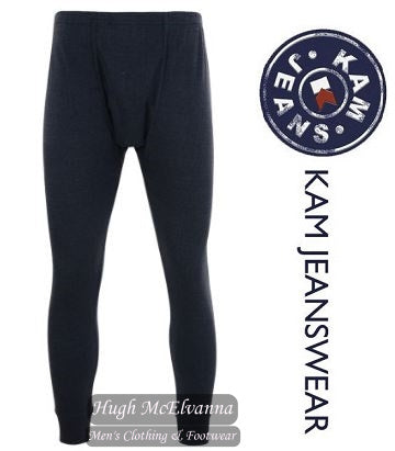 King Size Charcoal Grey Thermal Long Pant