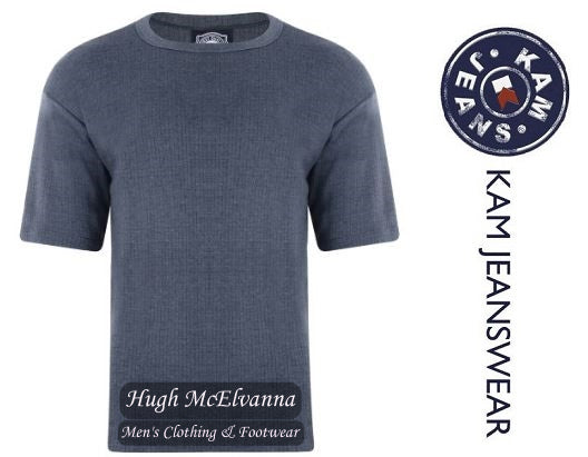 King Size Charcoal Grey Thermal T-Shirt