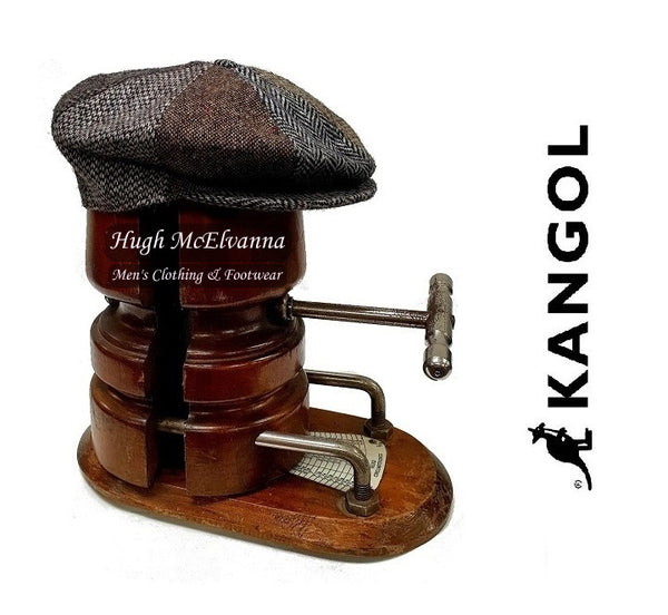 Man's Tweed Cap by Kangol - Hugh McElvanna Menswear