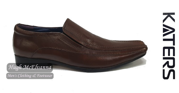 Slip On Brown Fashion Shoe by Katers style: 4220275