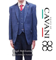 'KAISER' Boys 3Pc Fashion Suit by House Of Cavani
