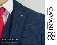 'CARNEGI' Tweed Fashion 3Pc. Suit by House Of Cavani