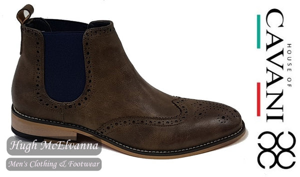 Brown Slip On Boot by House Of Cavani Style: Hound - Hugh McElvanna Menswear