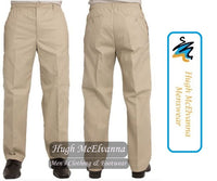 Mens Elastic Waist Rugby Trouser ( 3 Colours Options ) - Hugh McElvanna Menswear