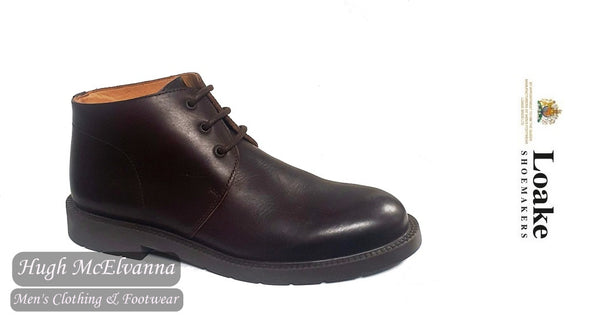 Loake Brown Leather Chukka Boot Style: L502DK