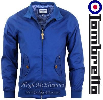 Lambretta 'Harrington' Jacket - Hugh McElvanna Menswear