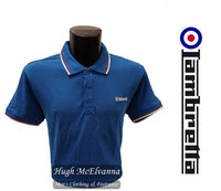 Lambretta Royal Blue Polo Shirt Style: WA00 - Hugh McElvanna Menswear