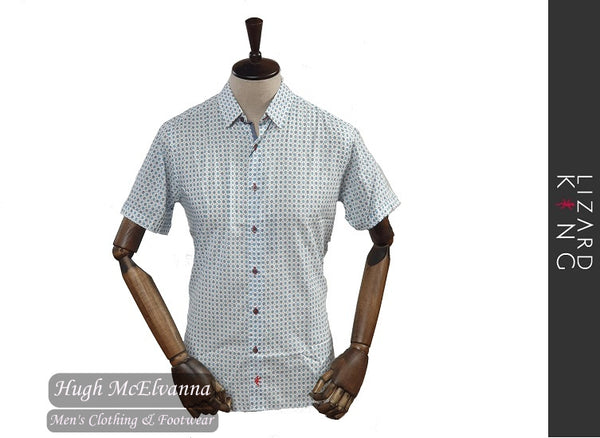 Short Sleeve Aqua Shirt by Lizard King Style: LK7503