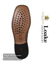Loake Black Laced Leather Shoe Style: 1362B