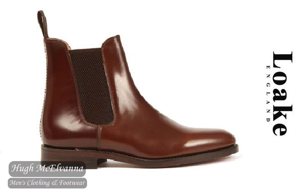 Loake Tan Leather Chelsea Boot Style: 290